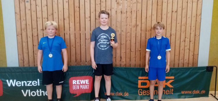 Vereinsmeisterschaften Jungen 13